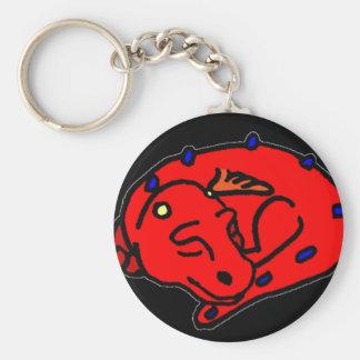 Drift Basic Round Button Key Ring