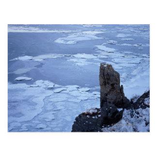 Drift Ice of Lake Notori 2 Postcard
