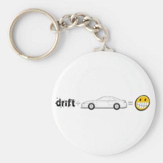 Drift Silvia S14 is fun Basic Round Button Key Ring