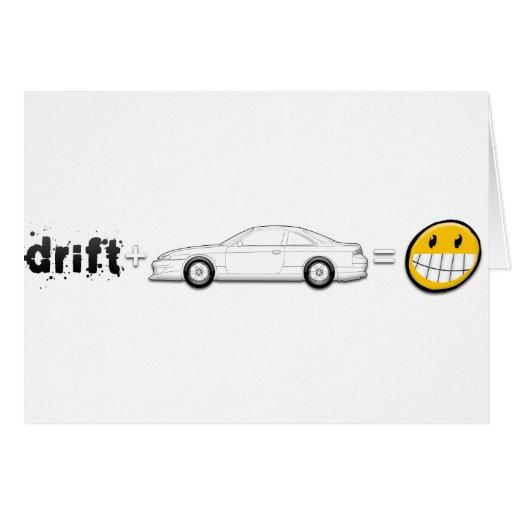 Drift Silvia S14 is fun Cards