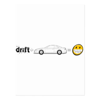 Drift Silvia S14 is fun Postcard