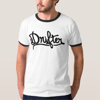 Drifter T-Shirt by CJ Hughes Art