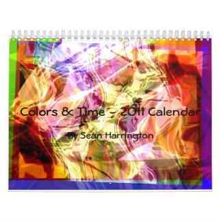 Drifting to a Dream, Colors & Time - 2011 Calen... Calendar