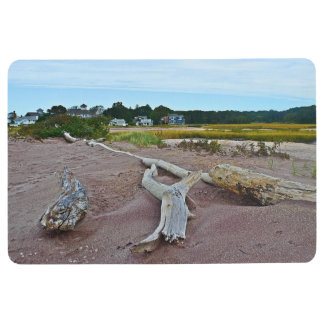 Driftwood And Purple Sand Floor Mat