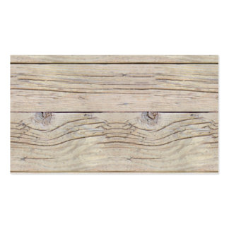 Driftwood Background Business Cards
