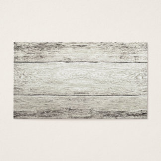 Driftwood Background Business Card