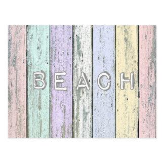 Driftwood Beach Postcard