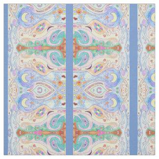 Driftwood Beach & Sky Art Design Fabric