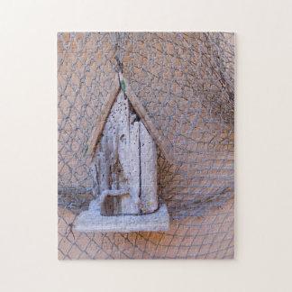 Driftwood Birdhouse Jigsaw Puzzle