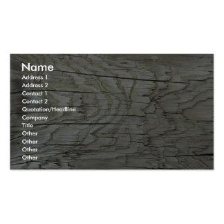 Driftwood close-up business card