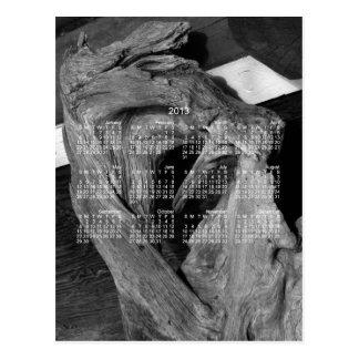 Driftwood Heart; 2013 Calendar Postcard