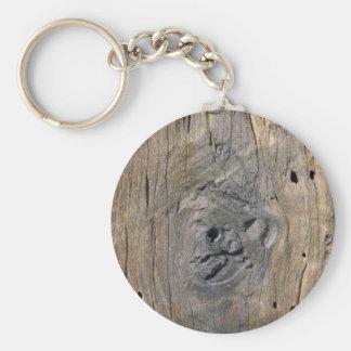 driftwood key ring