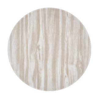 Driftwood pattern - taupe tan and white cutting boards