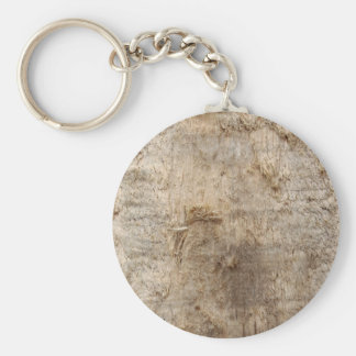 Driftwood Picture. Image of Weathered Wood. Basic Round Button Key Ring