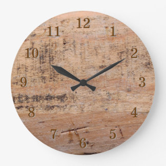 Driftwood Picture. Large Clock