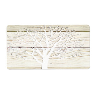Driftwood Tree Shipping Label