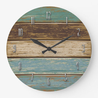 Driftwood Wall Clock