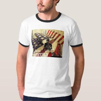 Drill America, Vintage Flag Shirt