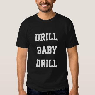 Drill Baby Drill, Black T-Shirt