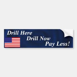 Drill Bumper Sticker