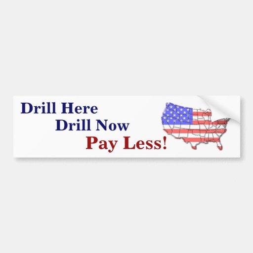 Drill Bumper Sticker !