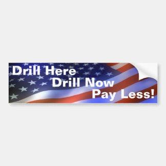 Drill Bumper Sticker *****