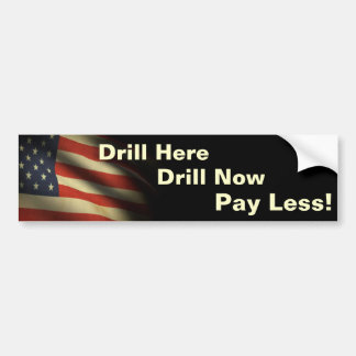 Drill Bumper Sticker Patriot I