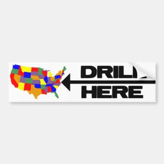 Drill Here Drill Now Bumper Sticker