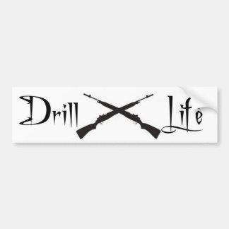 Drill Life Car Bumper Sticker