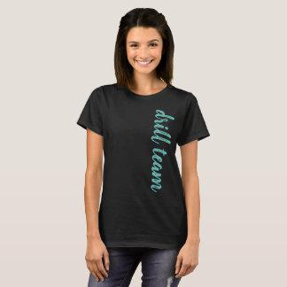 Drill Team Script Personalized T-Shirt