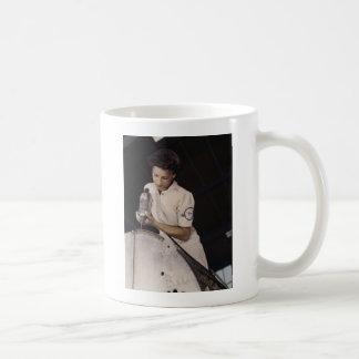 Drilling Deep, 1940s Mug