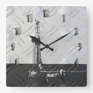 Drilling Rig Clock (with numbers)