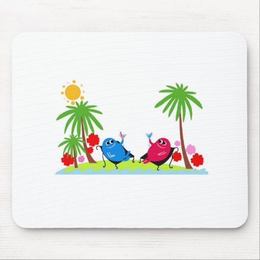 drink a toast mouse pad