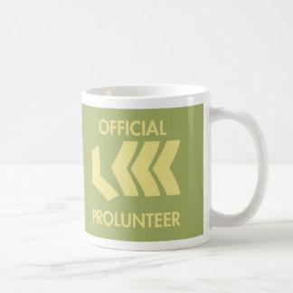 Drink and plan prolunteer coffee mug