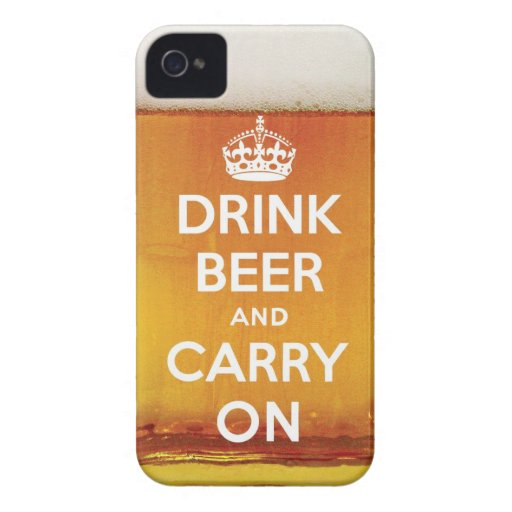 Drink beer and carry on blackberry bold covers