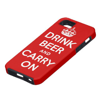 Drink beer and carry on iPhone 5 cases