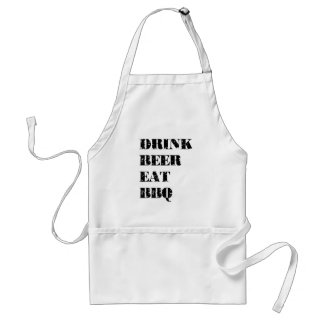 Drink Beer Father's Day BBQ Apron