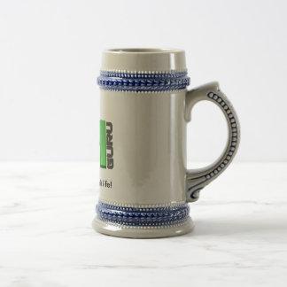 Drink beer with VMGuru.nl Beer Stein