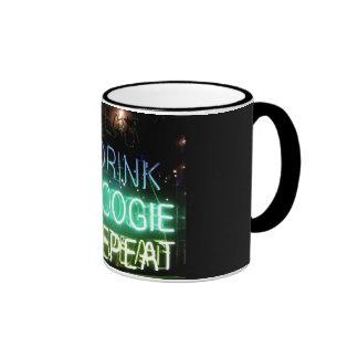 Drink, Boogie, Repeat! Ringer Mug