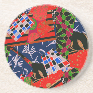 Drink Coasters with Brilliant Collage