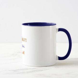 Drink coffee. Not Kool-Aid. Mug