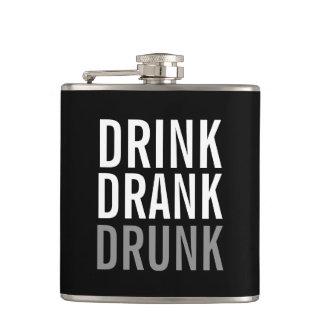 Drink Drank Drunk | Funny Hip Flask