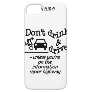 Drink & Drive custom iPhone 5 Case-Mate Barely There iPhone 5 Case