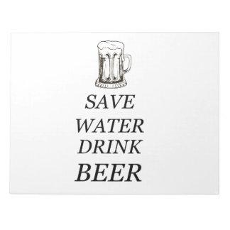 Drink Food Beer Notepad