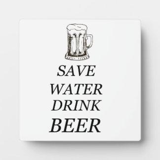 Drink Food Beer Plaque