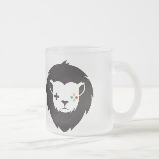 DRINK FROSTED GLASS COFFEE MUG