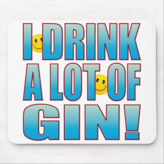 Drink Gin Life B Mouse Pad