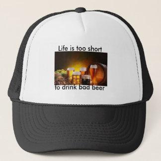 Drink good beer trucker hat