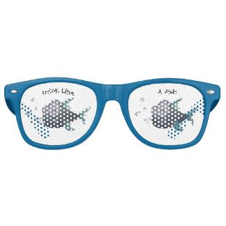 Drink Like A Fish Retro Sunglasses