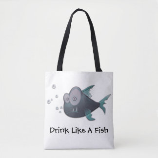 Drink Like A Fish Tote Bag